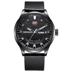 MINI FOCUS Mf0028G 4289 Montre Masculin Affichage du Calendrier à la Mode -