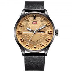 MINI FOCUS Mf0028G 4289 Fashion Calendar Display Men Watch -