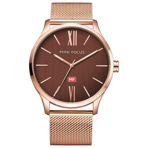 MINI FOCUS Mf0018G 4316 Montre Homme Homme Or Rose