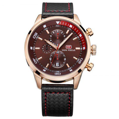 Best MINI FOCUS Mf0017G 4317 Leisure Pin Buckle Men Watch