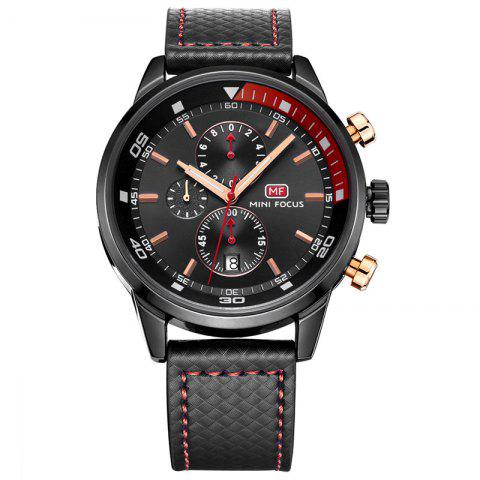 Latest MINI FOCUS Mf0017G 4317 Leisure Pin Buckle Men Watch