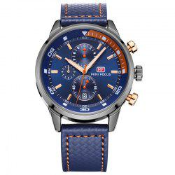 MINI FOCUS Mf0017G 4317 Leisure Pin Buckle Montre Homme -