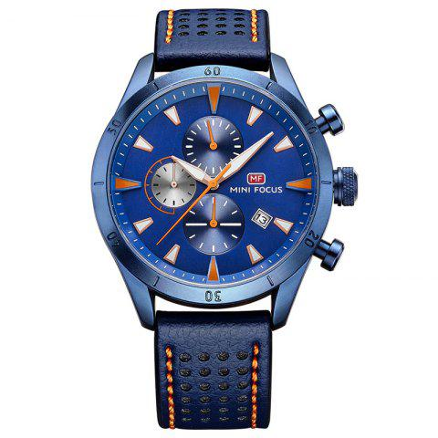 Outfit MINI FOCUS Mf0011G 4368 Multifunctional Men Watch BLUE