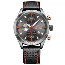 MINI FOCUS Mf0011G 4368 Multifunctional Men Watch - GRAY