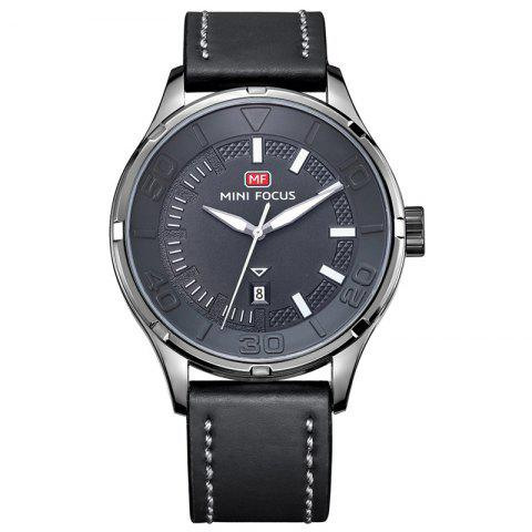 Fashion MINI FOCUS Mf0008G 4370 Exclusive Color Design Men Watch - GRAY  Mobile
