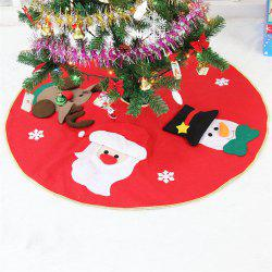 Fashion 3D Santa Claus Elk Embroidery Tree Dress Christmas Decoration -