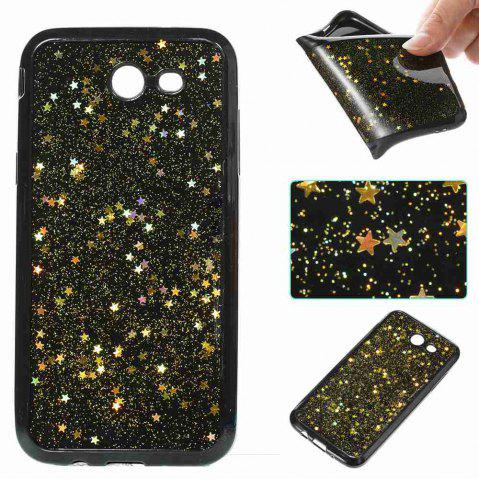 Affordable Black Five-Pointed Star Painted Dijiao Tpu Phone Case for Samsung Galaxy J3 Prime J3 2017 / Prime