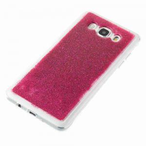 Flash Powder Painted Dijiao Tpu Phone Case for Samsung Galaxy j5 2016 -