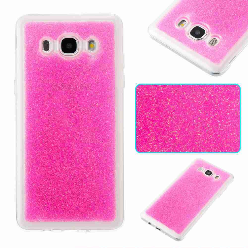 Trendy Flash Powder Painted Dijiao Tpu Phone Case for Samsung Galaxy j5 2016