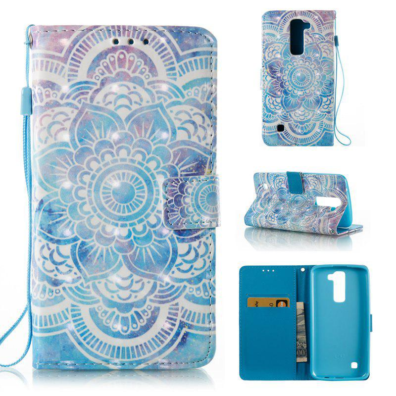 Affordable 3D Painted Pu Phone Case for Lg K8 / K7