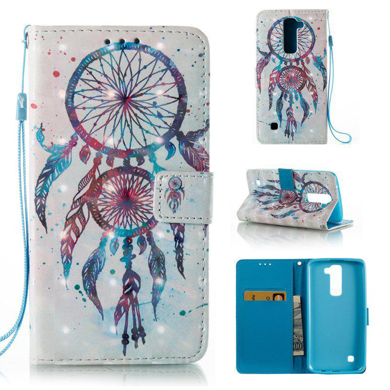 Online 3D Painted Pu Phone Case for Lg K8 / K7
