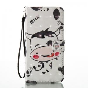 3D Painted Pu Phone Case for Lg Ls775 / Stylus2 -