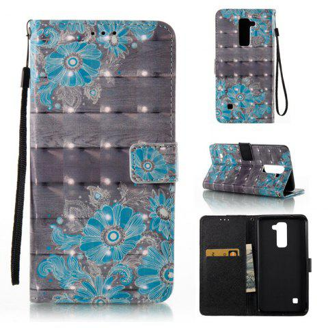Outfit 3D Painted Pu Phone Case for Lg Ls775 / Stylus2