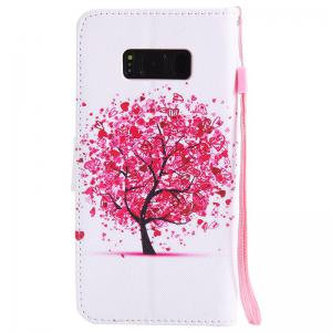 Painted Pu Phone Case for Samsung Galaxy S8 -