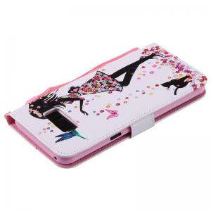 Painted Pu Phone Case for Samsung Galaxy S8 Plus -