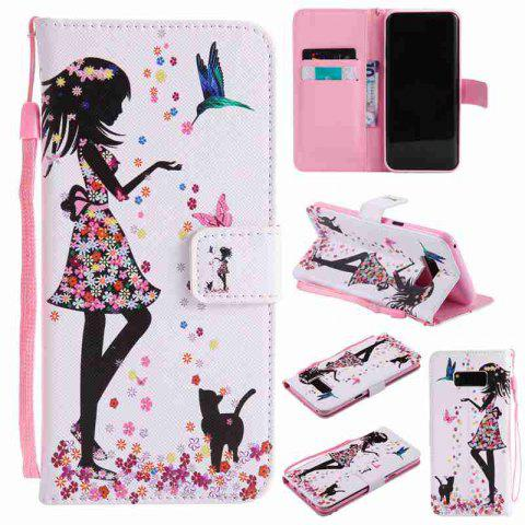Hot Painted Pu Phone Case for Samsung Galaxy S8 Plus