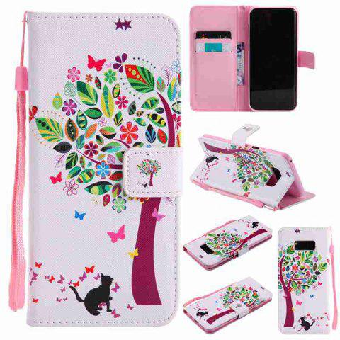 Fashion Painted Pu Phone Case for Samsung Galaxy S8 Plus