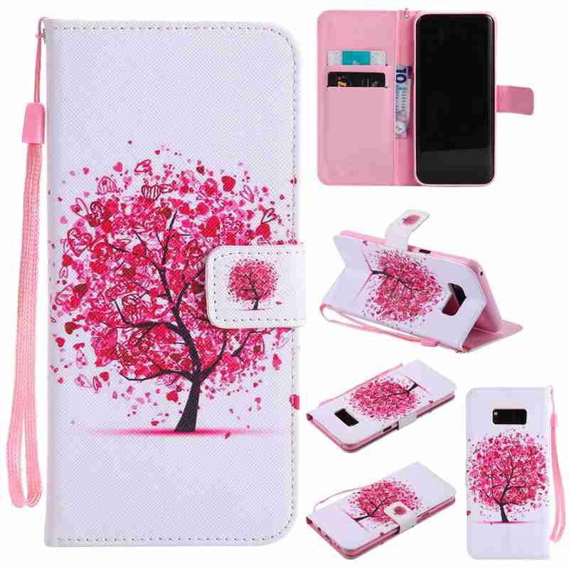Best Painted Pu Phone Case for Samsung Galaxy S8 Plus
