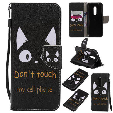Discount Painted Pu Phone Case for Zte Axon 7