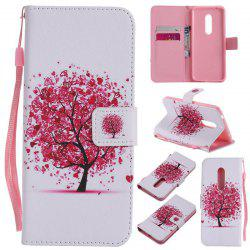 Painted Pu Phone Case for Zte Axon 7 -