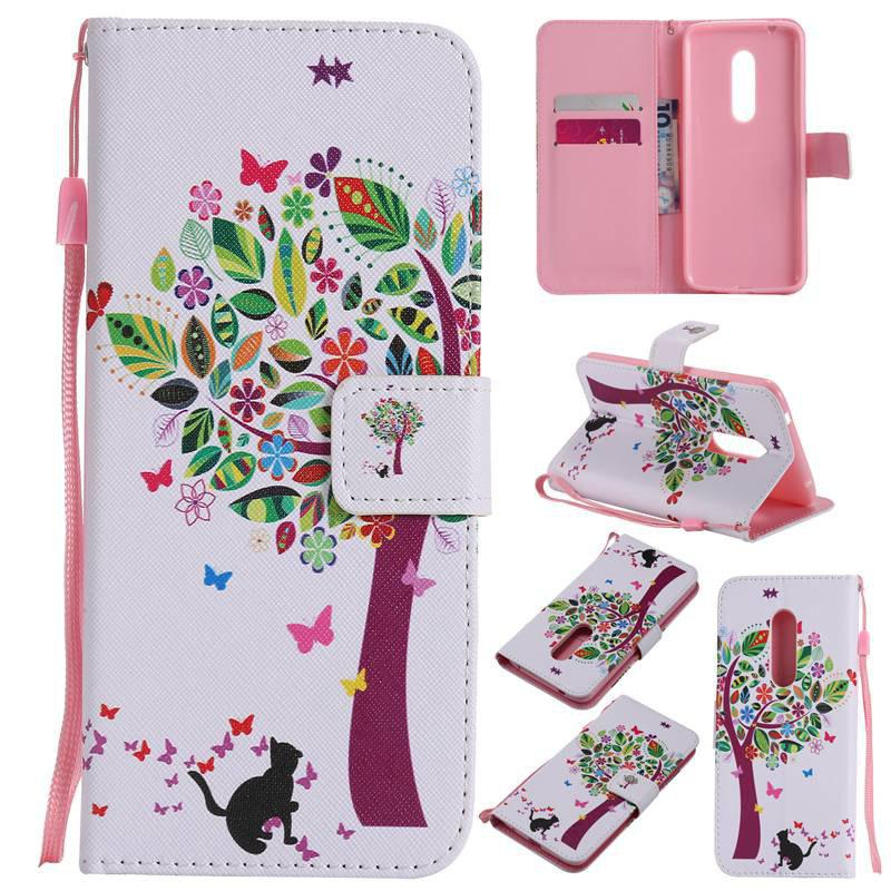 Store Painted Pu Phone Case for Zte Axon 7