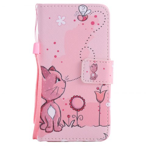 Shop New Painted Pu Phone Case for Samsung Galaxy Grand Prime G530