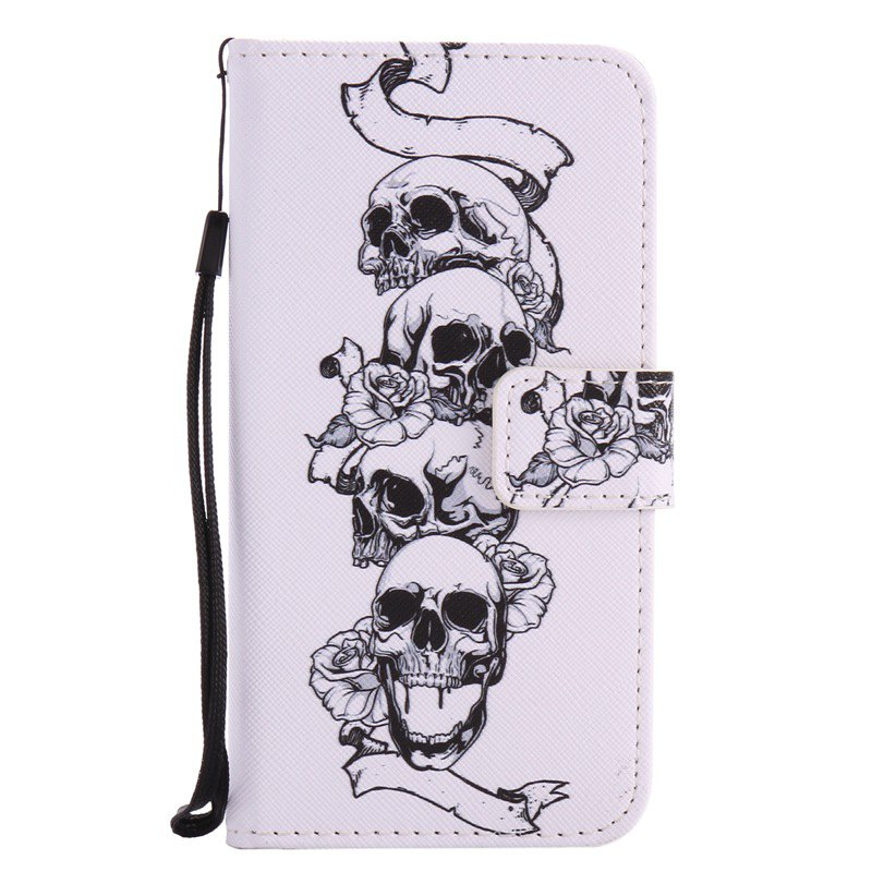 Shops New Painted Pu Phone Case for Samsung Galaxy Grand Prime G530
