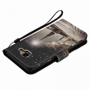 New Painted Pu Phone Case for Samsung Galaxy A5 2016 -
