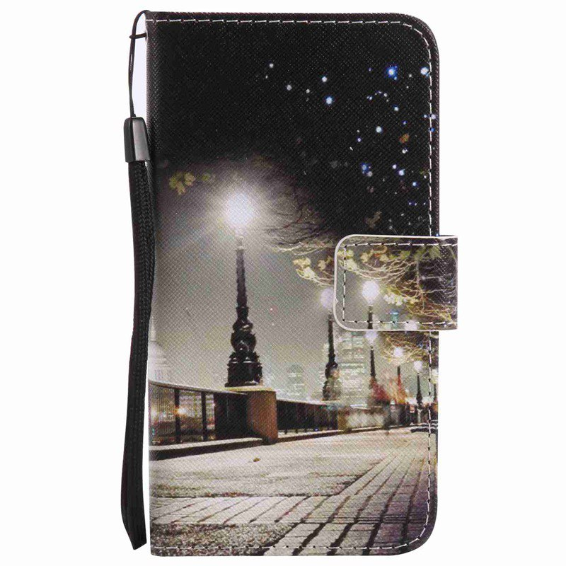 Store New Painted Pu Phone Case for Samsung Galaxy A5 2016