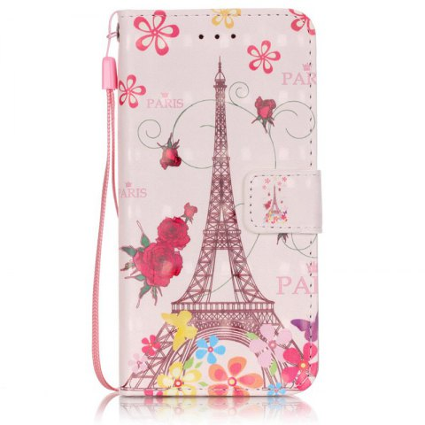 Outfit New 3D Painted Pu Phone Case for Iphone 6S / 6