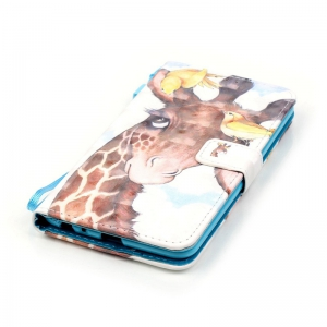 New 3D Painted Pu Phone Case for Lg Ls775 / Stylus2 -