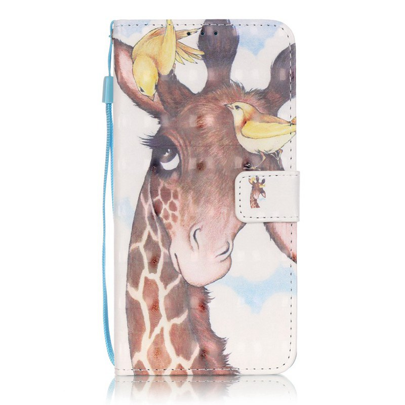 Outfit New 3D Painted Pu Phone Case for Lg Ls775 / Stylus2