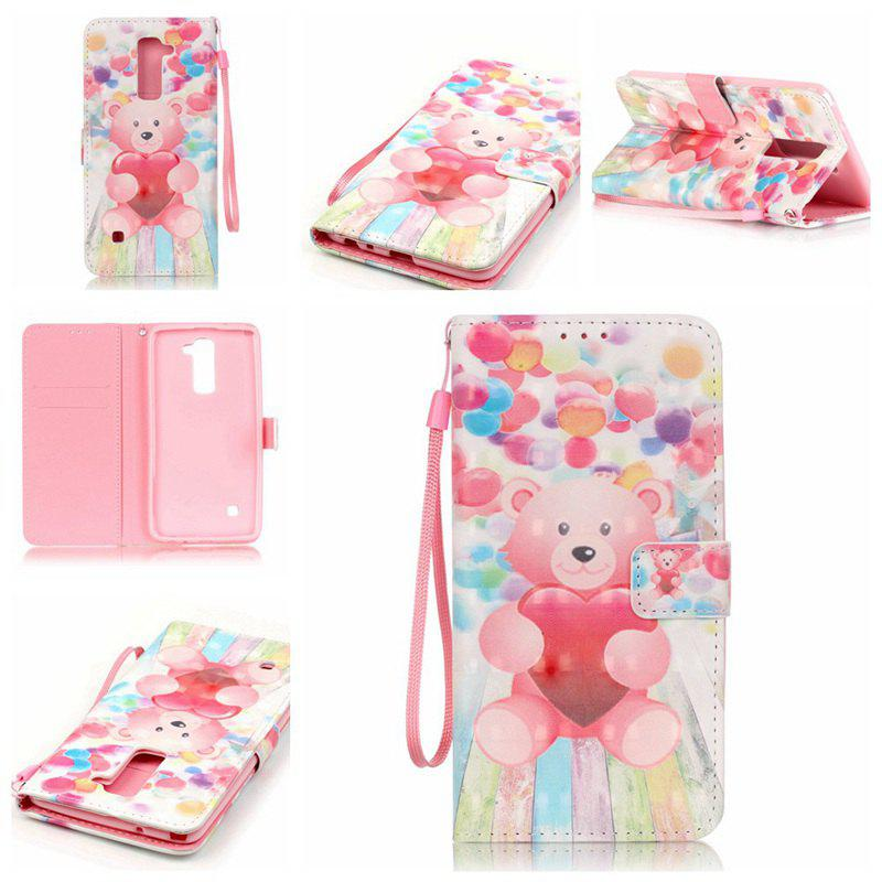 Online New 3D Painted Pu Phone Case for Lg Ls775 / Stylus2