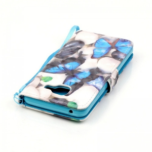 New 3D Painted Pu Phone Case for Samsung Galaxy A3 2016 -