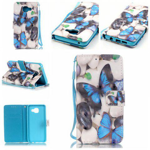 Latest New 3D Painted Pu Phone Case for Samsung Galaxy A3 2016