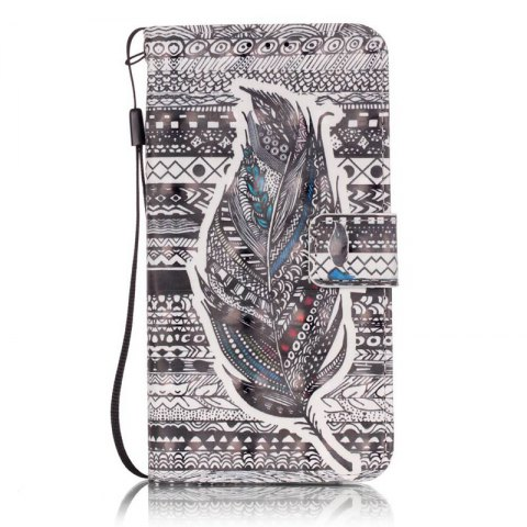 Latest New 3D Painted Pu Phone Case for Samsung Galaxy J3 2015 / J3 2016