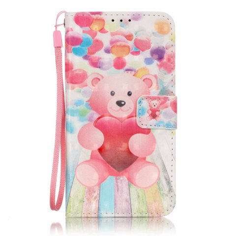 Outfits New 3D Painted Pu Phone Case for Samsung Galaxy J3 2015 / J3 2016