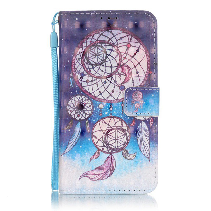 Outfit New 3D Painted Pu Phone Case for Samsung Galaxy J3 2015 / J3 2016