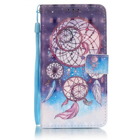 Outfits New 3D Painted Pu Phone Case for Samsung Galaxy J5 2016