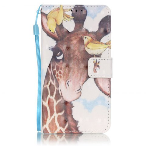 Fancy New 3D Painted Pu Phone Case for Samsung Galaxy J5 2016
