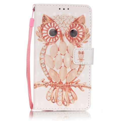 Discount New 3D Painted Pu Phone Case for Samsung Galaxy J5 2016
