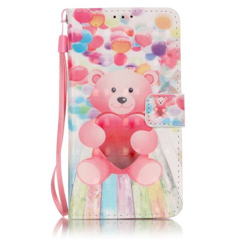 New New 3D Painted Pu Phone Case for Samsung Galaxy J5 2016