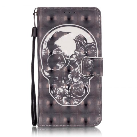 Fashion New 3D Painted Pu Phone Case for Samsung Galaxy Grand Prime G530