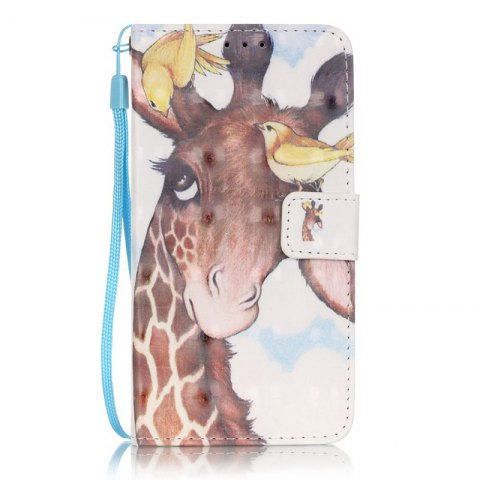 Online New 3D Painted Pu Phone Case for Samsung Galaxy Grand Prime G530