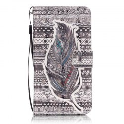 New 3D Painted Pu Phone Case for Samsung Galaxy Grand Prime G530 -