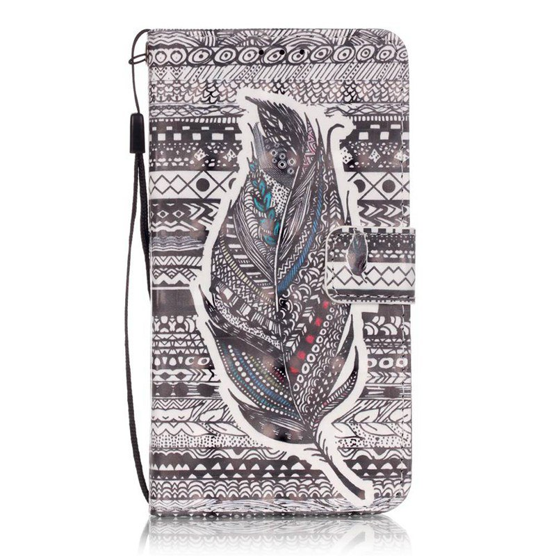 Hot New 3D Painted Pu Phone Case for Samsung Galaxy Grand Prime G530