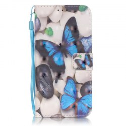 New 3D Painted Pu Phone Case for Samsung Galaxy S7 Edge -