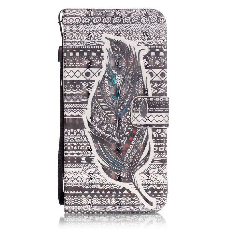Shops New 3D Painted Pu Phone Case for Samsung Galaxy S7 Edge