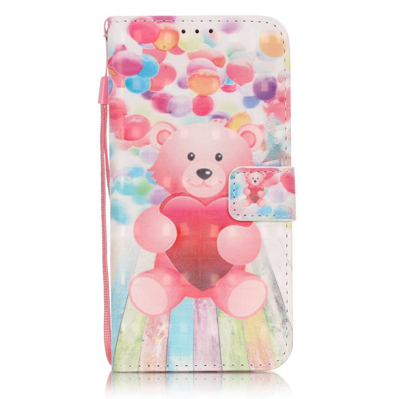 Discount New 3D Painted Pu Phone Case for Samsung Galaxy S7 Edge