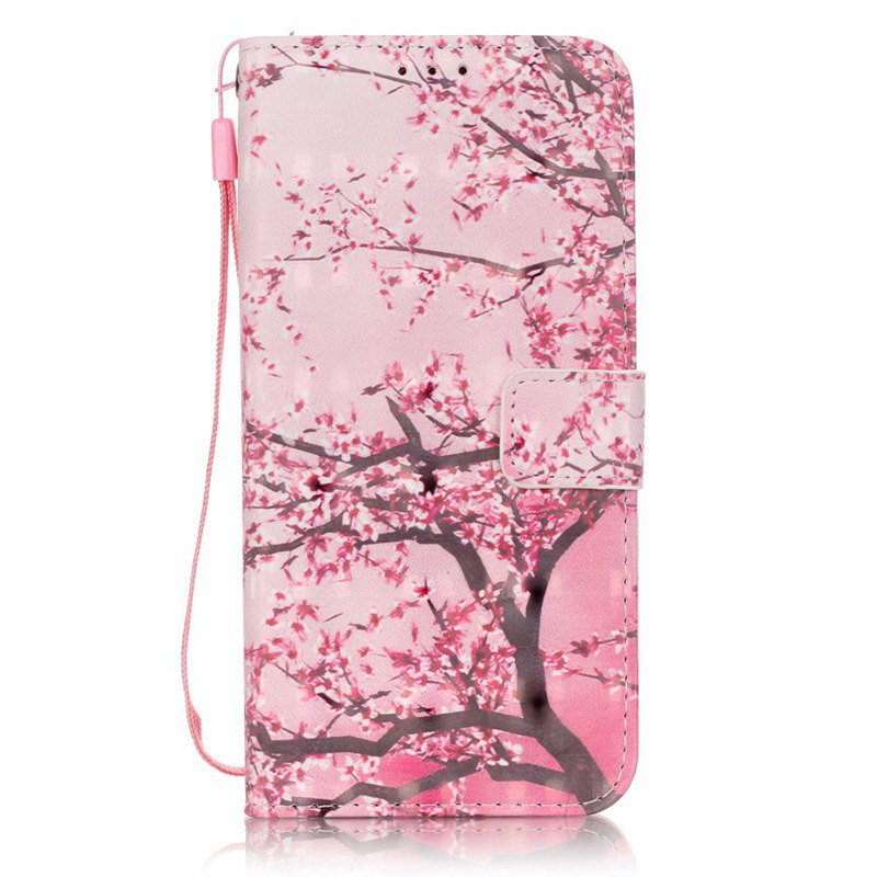 Trendy New 3D Painted Pu Phone Case for Samsung Galaxy S7 Edge